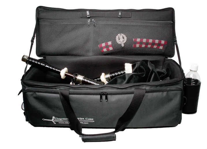 Claymore Bagpipe Case Open